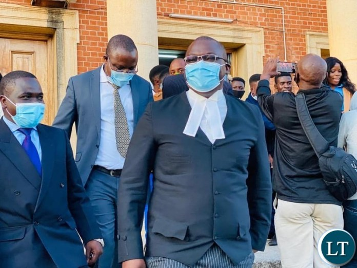 Lawyers after the Presidential Eligibility Court Session