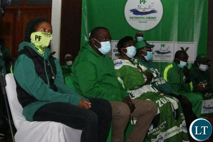 PF members at the virtual rallies launch