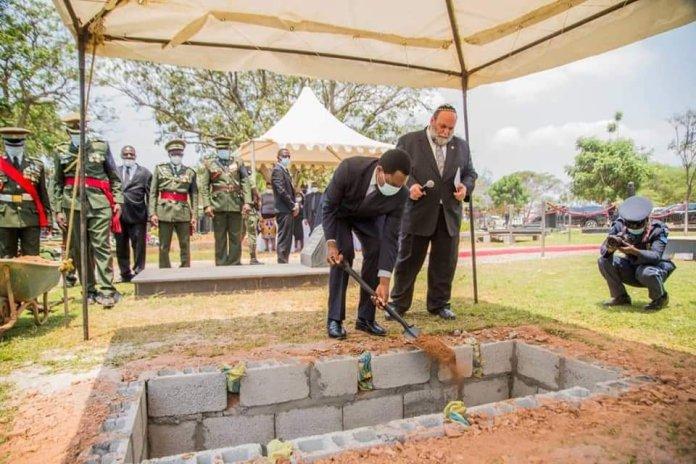 PRESIDENT Hakainde Hichilema at the burial of Late former Cabinet Minister Hon. Simon Ber Zukas in Lusaka.