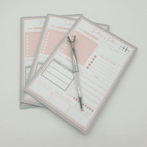 planner & pens