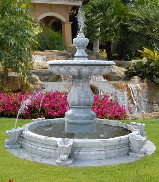 Water Fountains, Front Yard and Backyard Designs on Home Garden Fountain Design id=57009