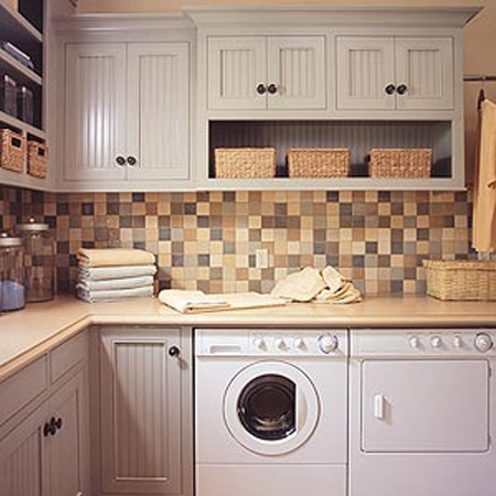4 simple laundry room decoration ideas eco style laundry on small laundry room paint ideas with brown furniture colors id=86736