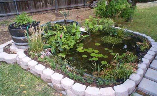 21 Garden Design Ideas, Small Ponds Turning Your Backyard ... on Backyard Pond Landscaping Ideas id=51493