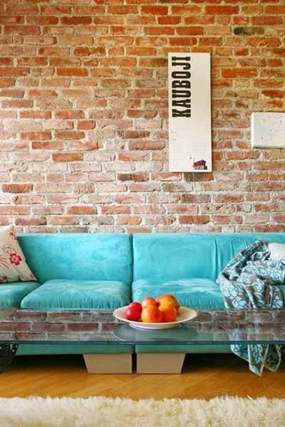 22 Modern Interior Design Ideas Blending Brick Walls with ... on Brick Wall Decorating Ideas  id=13616