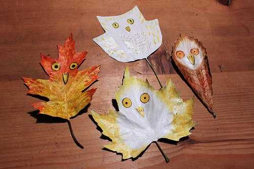 30 Great Painting Ideas Turning Dry Leaves Into Unique