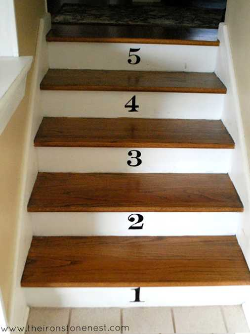 11 Wooden Stairs Making Colorful Centerpieces For Interior