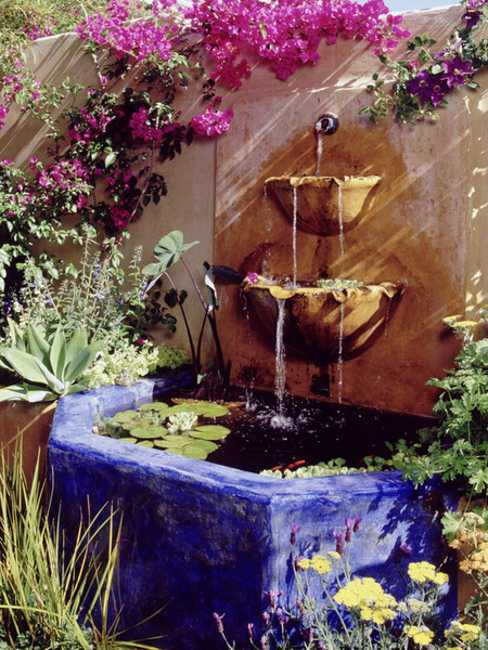 Mexican Style Garden Designs and Yard Landscaping Ideas on Mexican Patio Ideas  id=43285