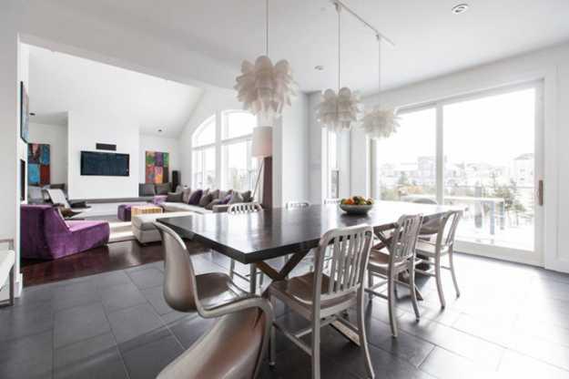 Modern Interior Design Ideas Decorating Accents In Purple