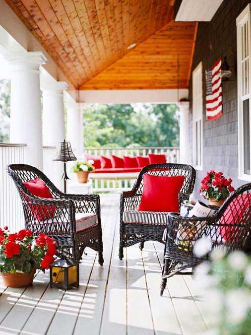Black Outdoor Wicker Patio Furniture