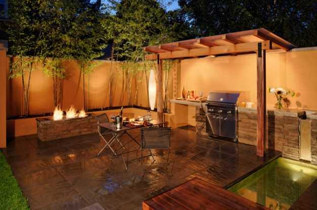 Outdoor BBQ Kitchen Islands Spice Up Backyard Designs and ... on Backyard Patio Grill Island id=49831
