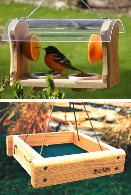 Modern Bird Feeders Attract Birds and Add Beautiful Yard ... on Birds Backyard Landscapes id=84374