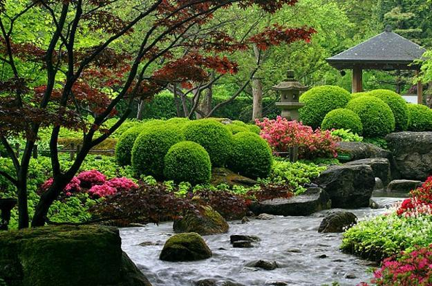 Beautiful Japanese Garden Design, Landscaping Ideas for ... on Backyard Japanese Garden Design Ideas id=49954