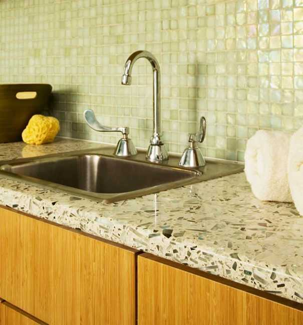 40 Great Ideas for Your Modern Kitchen Countertop Material ... on Kitchen Counter Decor Modern  id=44755