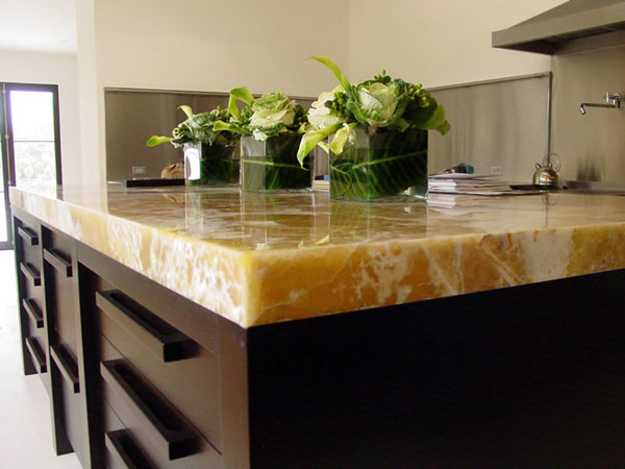 40 Great Ideas for Your Modern Kitchen Countertop Material ... on Modern Kitchen Countertop Decor  id=11698