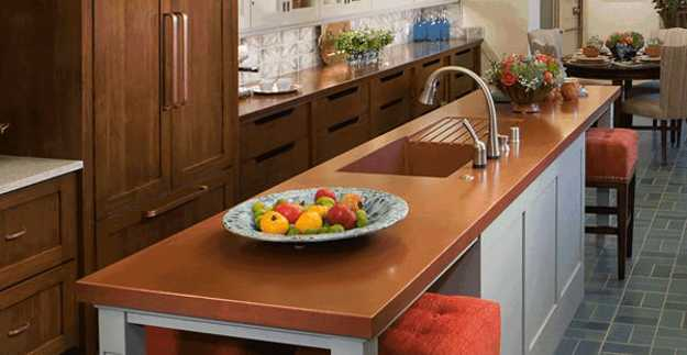 40 Great Ideas for Your Modern Kitchen Countertop Material ... on Modern Kitchen Countertop Decor  id=32081