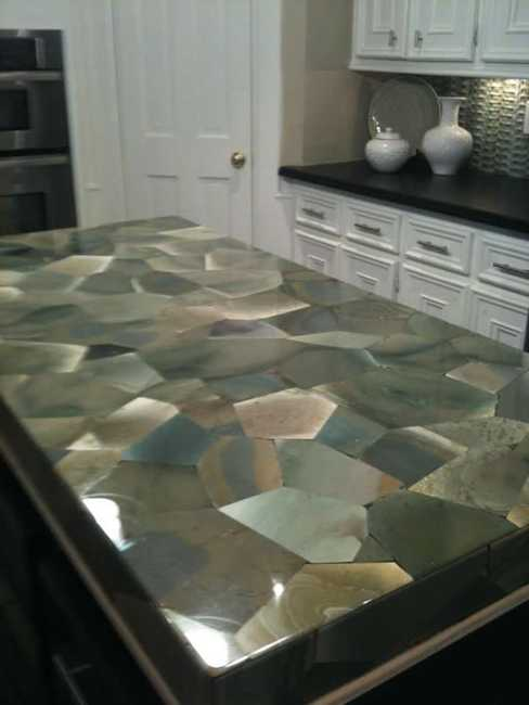 40 Great Ideas for Your Modern Kitchen Countertop Material ... on Modern:0Bjn4Cem9Be= Kitchen Counter  id=29433