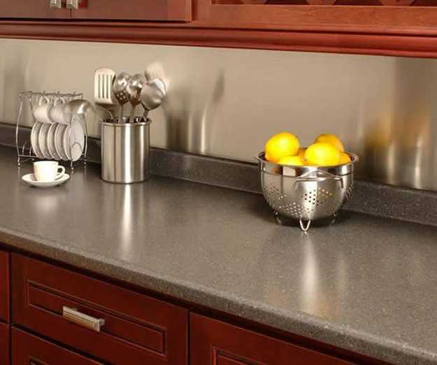 40 Great Ideas for Your Modern Kitchen Countertop Material ... on Modern Kitchen Countertop Decor  id=27568