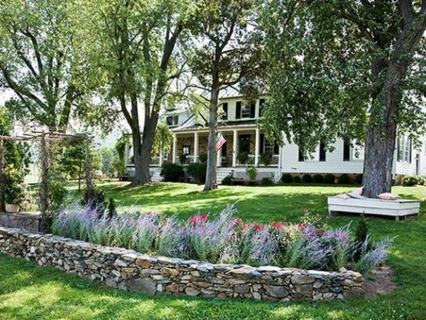 landscaping garden design ideas Natural Backyard Landscaping Ideas, Save Money Creating