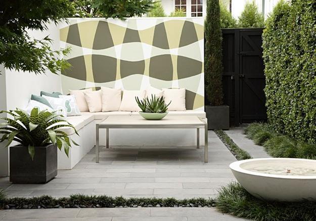 Two Modern Patio Ideas Turning Small Backyard Designs into ... on Modern Small Patio Ideas id=27873