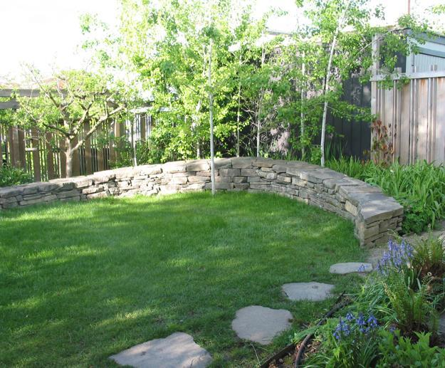 30 Stone Wall Pictures and Design Ideas to Beautify Yard ... on Wall Ideas For Yard id=90814