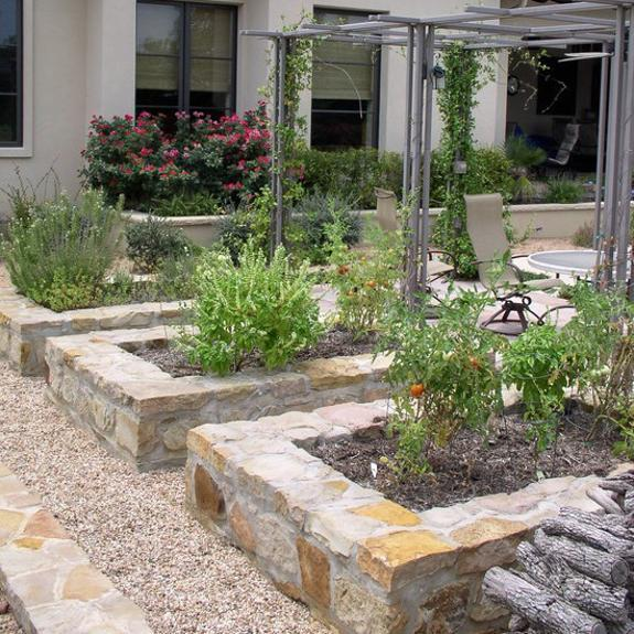 rock raised garden bed ideas 15 Charming Garden Design Ideas with Stone Edges and