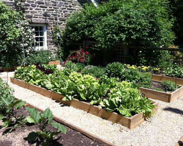 20 Raised Bed Garden Designs and Beautiful Backyard ... on Backyard Raised Garden Bed Ideas id=17445