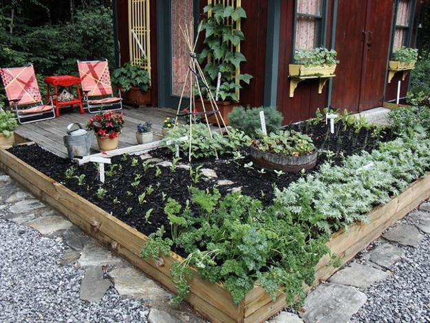 20 Raised Bed Garden Designs and Beautiful Backyard ... on Raised Patio Designs  id=17725