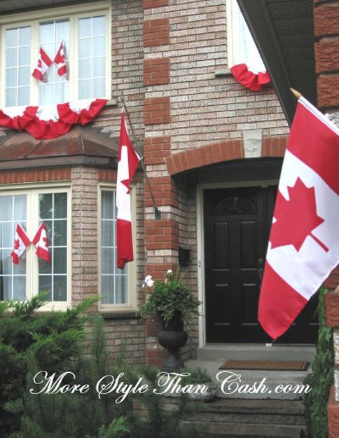 33 Canada Day Party Decorations and Ideas for Outdoor Home ... on Backyard Decor Canada id=33803