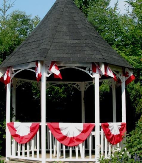 33 Canada Day Party Decorations and Ideas for Outdoor Home ... on Backyard Decor Canada id=81554