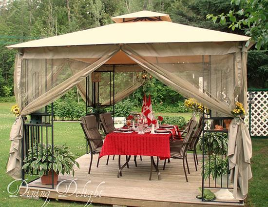 33 Canada Day Party Decorations and Ideas for Outdoor Home ... on Backyard Decor Canada id=86210
