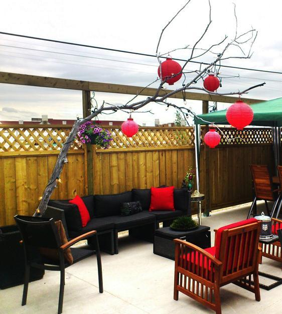 33 Canada Day Party Decorations and Ideas for Outdoor Home ... on Backyard Decor Canada id=80450