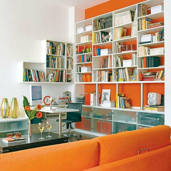 Modern Ideas for Interior Decorating with Bookcases and ... on Shelf Sconces For Living Rooms Contemporary id=86971