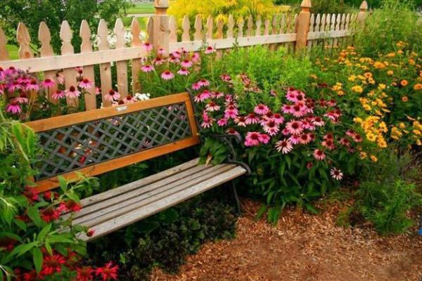 beautiful garden benches 33 Wooden Benches Complimenting Garden Design and Backyard