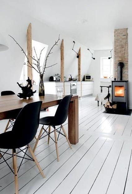 black and brown colors modern interior