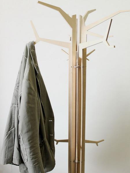 30 DIY Tree Coat Racks Personalizing Entryway Ideas With