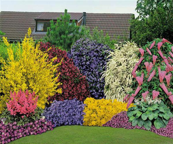 beautiful flowers garden ideas 33 Beautiful Flower Beds Adding Bright Centerpieces to