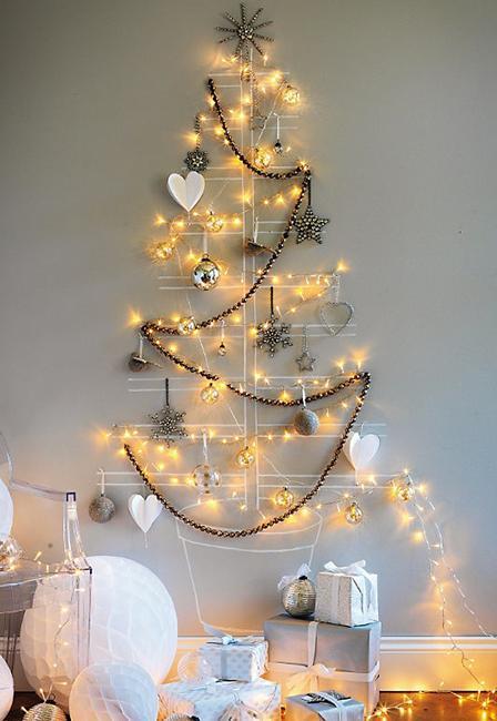 Popcorn String Christmas Decorations