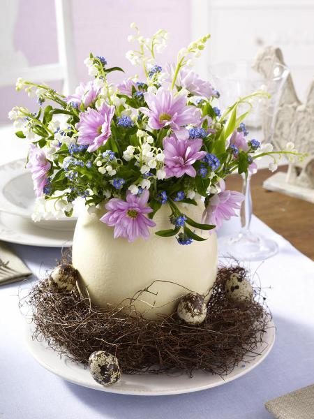 Table Easter Ideas Decorating Simple