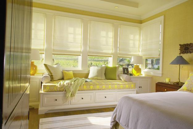 20 Roman Shades and Curtain Ideas Creating Beautiful ... on Beautiful Bedroom Curtains  id=61990