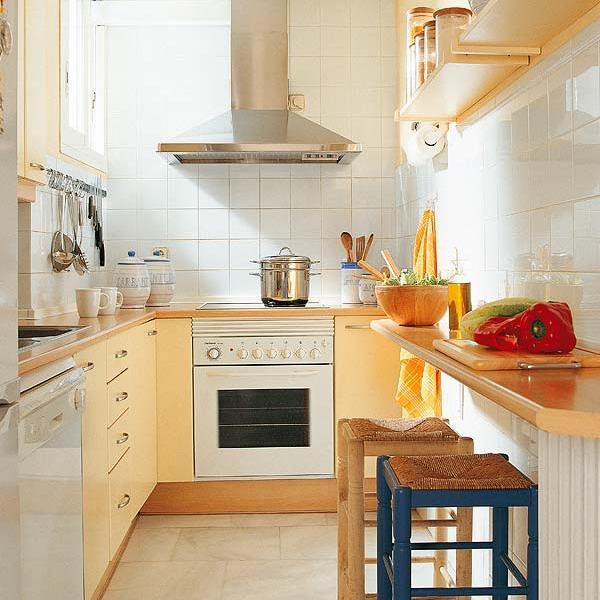 Small Kitchens and Space Saving Ideas to Create Ergonomic ...