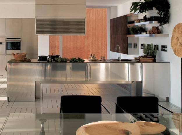 100 Plus 25 Contemporary Kitchen Design Ideas, Stainless ... on Modern Kitchen Countertop Decor  id=99008