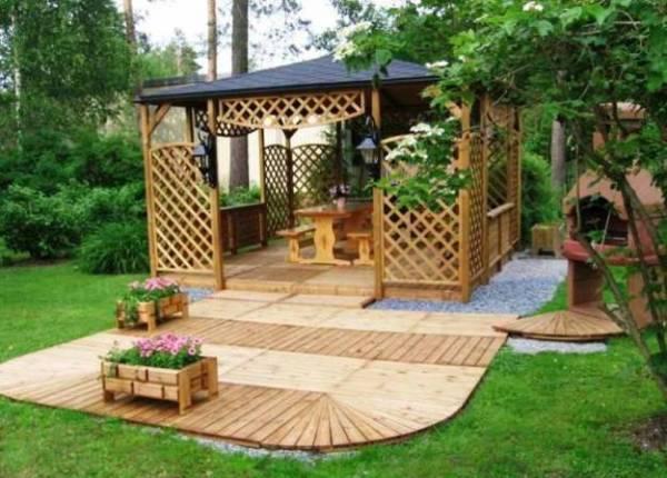 outdoor pergola gazebo patio ideas 22 Beautiful Garden Design Ideas, Wooden Pergolas and