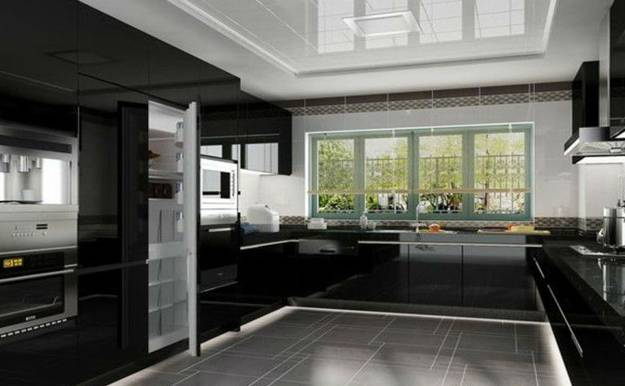 Small Kitchen Design Peninsula