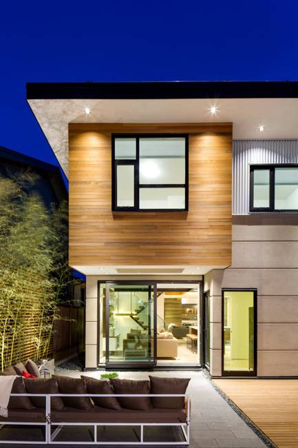 Ultra Green Modern House Design with Japanese Vibe in ... on Modern Style Houses  id=84359