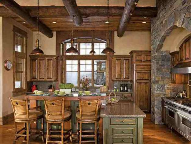30 Country Kitchens Blending Traditions and Modern Ideas ... on Farmhouse:4Leikoxevec= Rustic Kitchen Ideas  id=12371