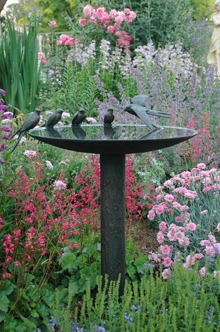 20 Beautiful Garden Decorations, Sculptures to Accentuate ... on Birds Backyard Landscapes  id=75992
