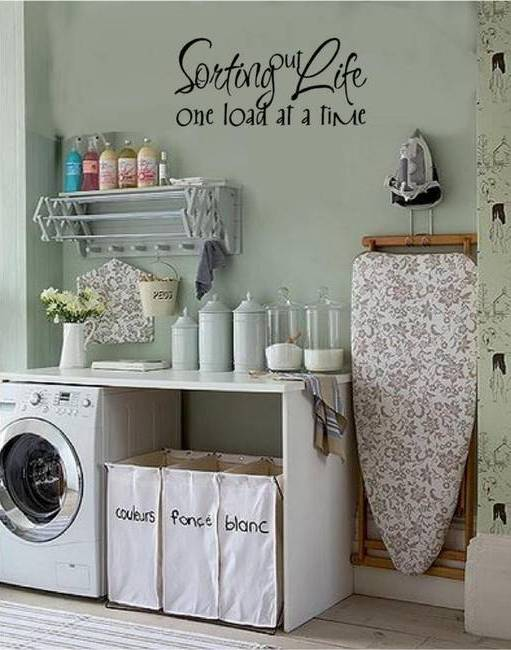 20 Smart Laundry Room Design Ideas and Tips for Functional ... on Laundry Decoration  id=56770