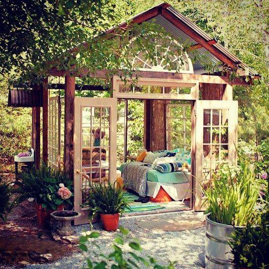 Using Sun Shelters for Outdoor Daybed Designs, 30 Summer ... on Living Spaces Outdoor Daybed id=28541