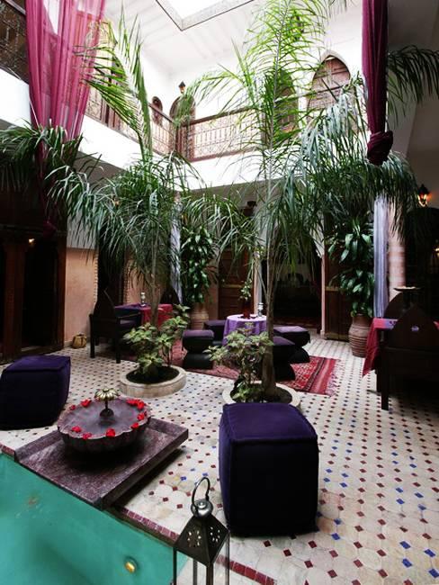 25 Modern Backyard Ideas to Create Beautiful Outdoor Rooms ... on Moroccan Backyard Design  id=35528