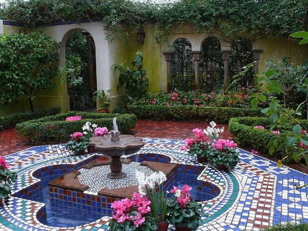 25 Modern Backyard Ideas to Create Beautiful Outdoor Rooms ... on Moroccan Backyard Design  id=67253